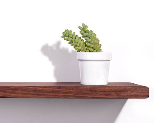 Fin Dash Floating Shelf