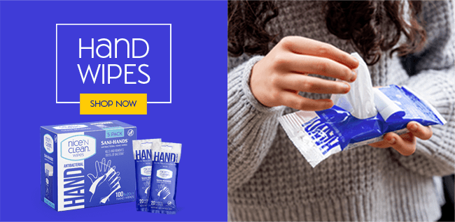 Nice 'N Clean Hand Wipes - Shop Now