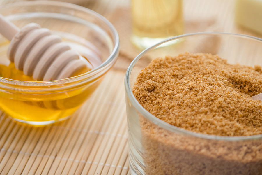 Honey Brown Sugar Facial Scrub