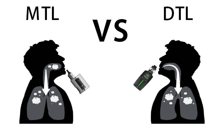 mtl vs dtl vaping