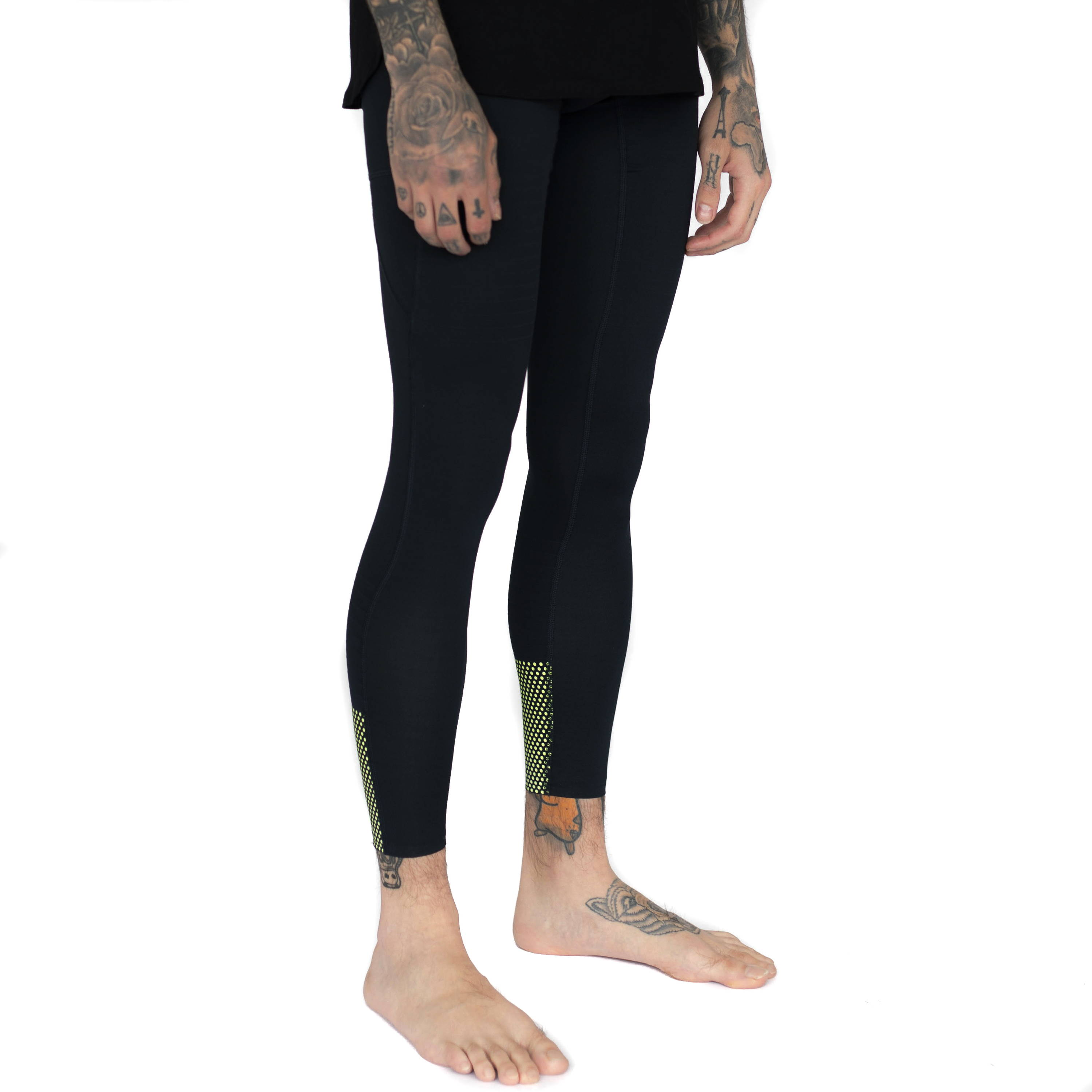 Mens-Glow in Dark-Compression Tight-3