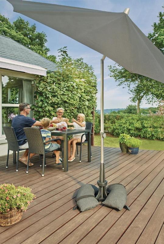 Sonnenschirmständer für den Garten Baser - 50 kg, 40 kg oder 30 kg