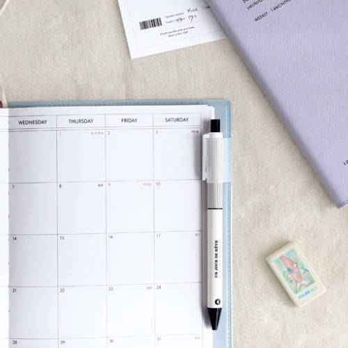 Pen holder - 2020 Simple medium dated weekly planner scheduler