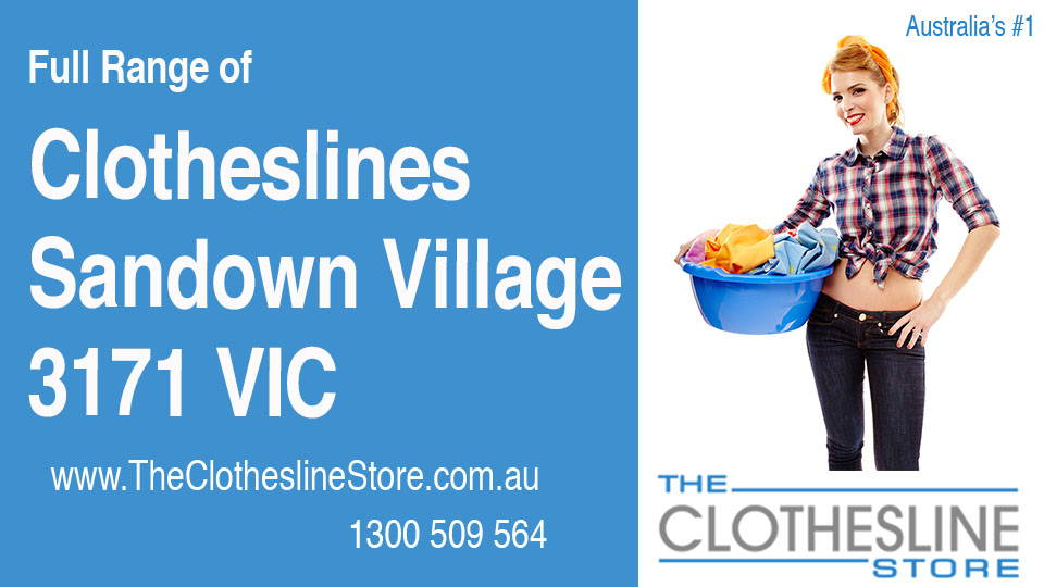 New Clotheslines in Sandown Village Victoria 3171