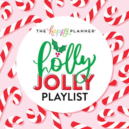 listen to the happy planner holly jolly playlist