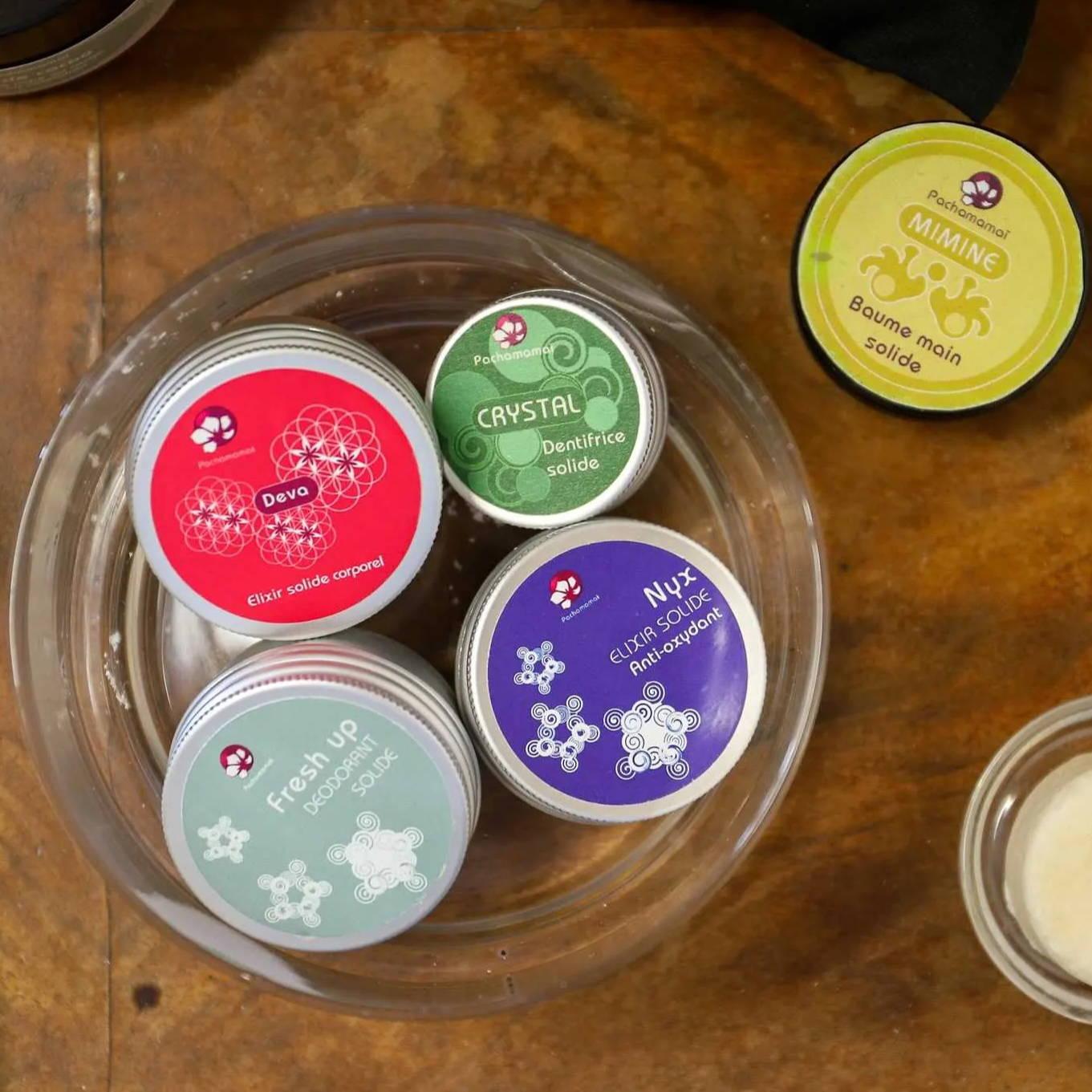 Les cosmétiques solides naturels de Pachamamaï