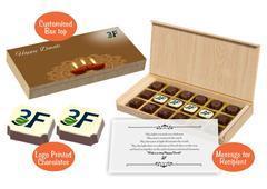Chocolates as Diwali gift ideas (18 Chocolates - 100 Box)