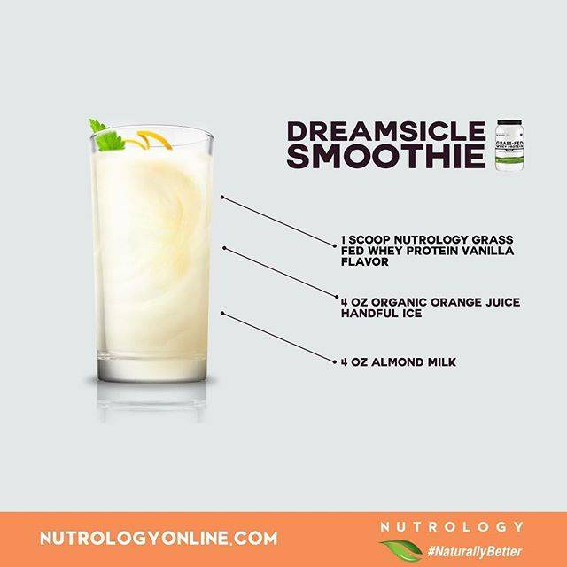 Nutrology Dreamsicle Smoothie Recipe