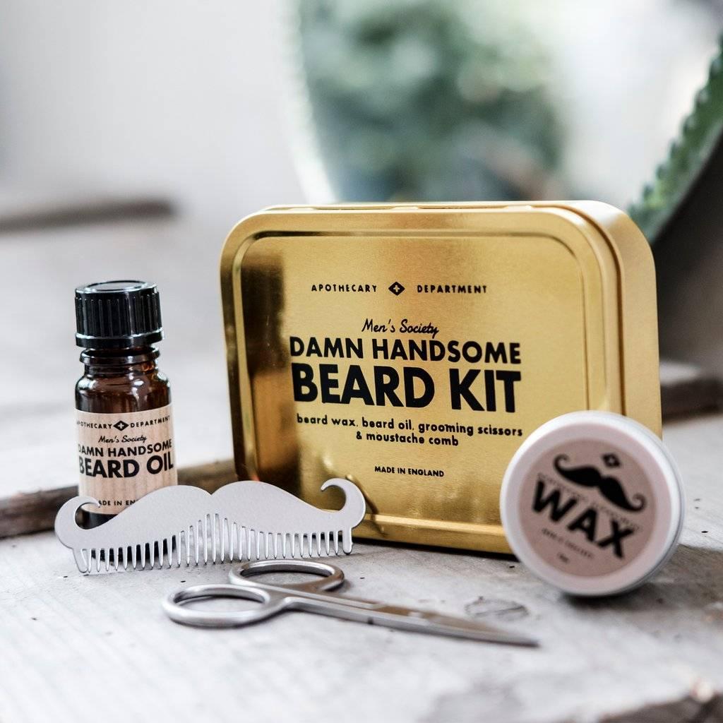 Beard grooming kit | men's gifts