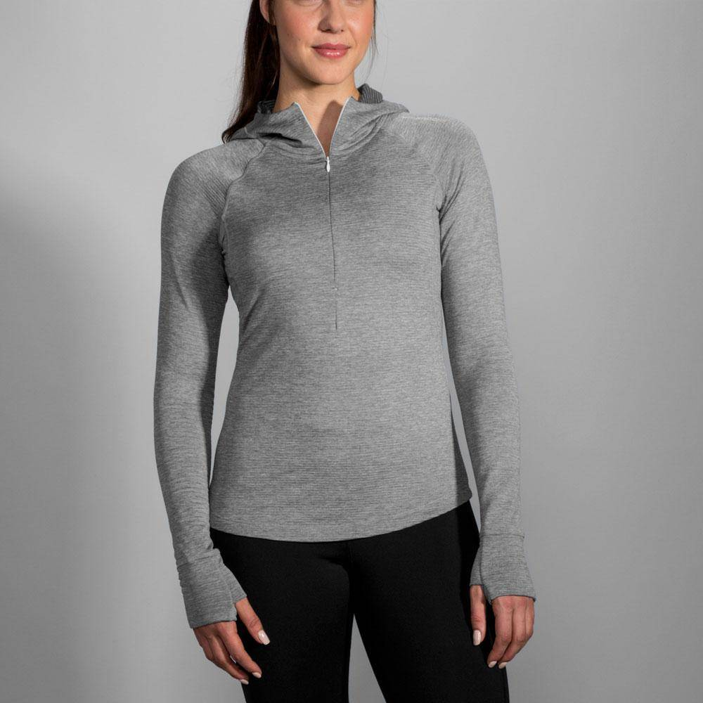 Brooks Notch Thermal Hoodie Women's Sterling