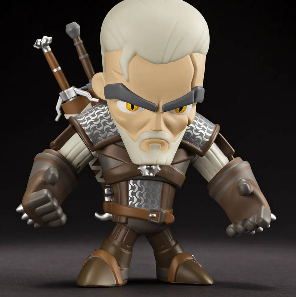An image of The Witcher 3 vinyl figure