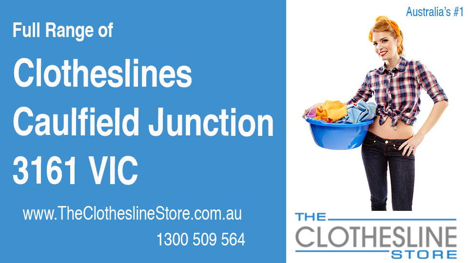 New Clotheslines in Caulfield Junction Victoria 3161