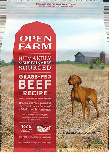 Grass-Fed Beef Dry Dog Food | Open Farm