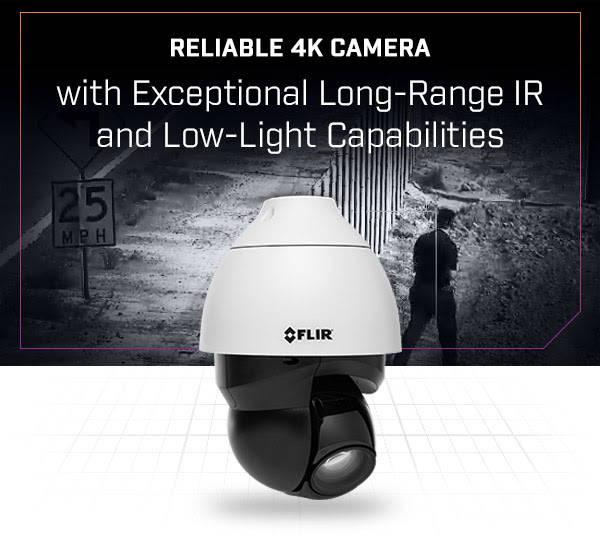 FLIR Quasar 4K IR PTZ Camera