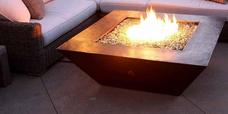 MORENO SERIES FIRE PITS by STARFIRE DESIGNS