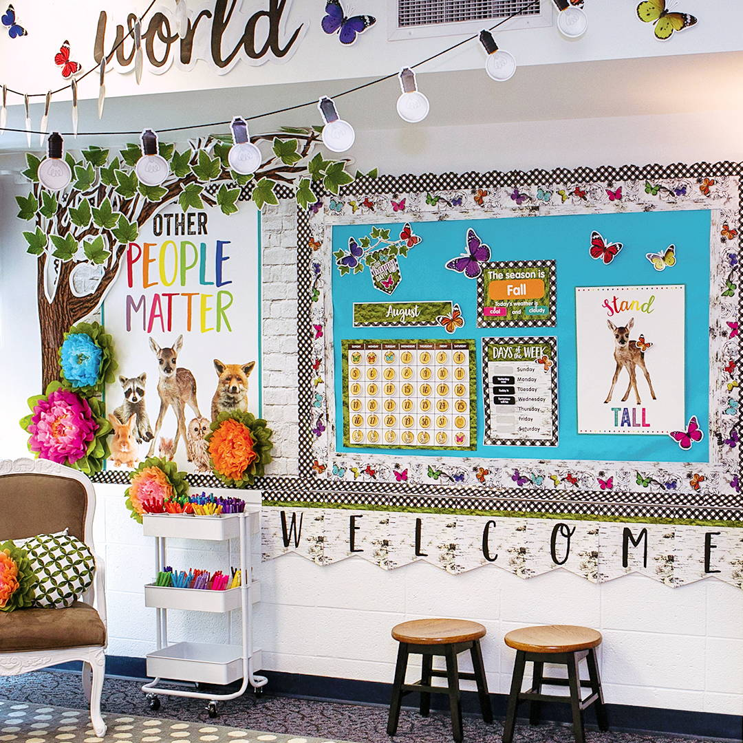 Woodland Whimsy Classroom Decorations