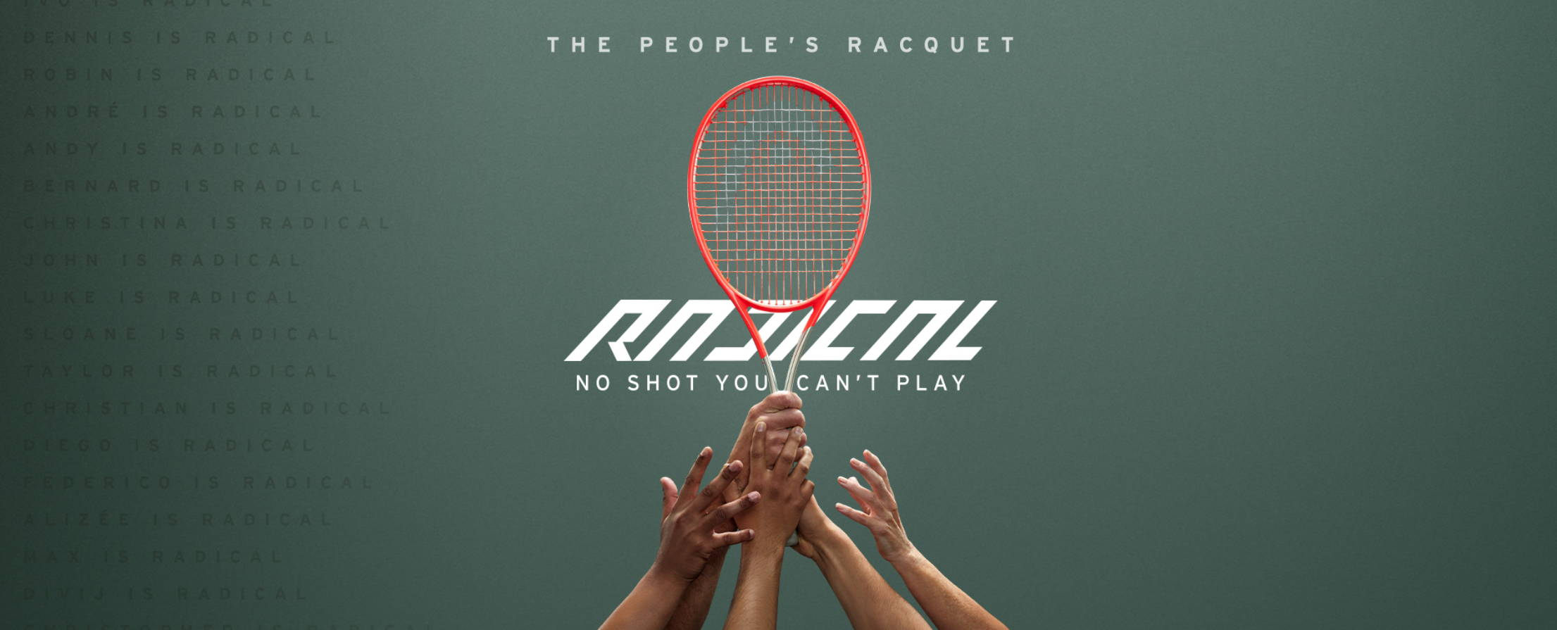 The People's Racquet - The HEAD Graphene 360+ Radical Tennis Racquet
