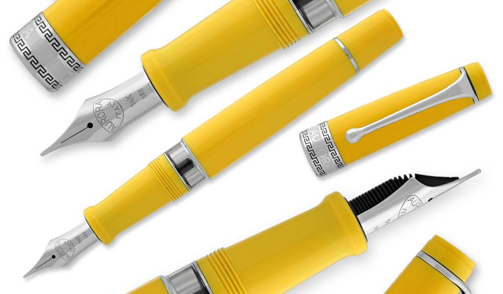 aurora optima limited edition flex nib fountain pens