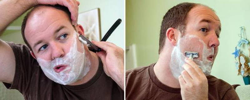 why is straight razor shave better