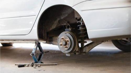 car wheel well