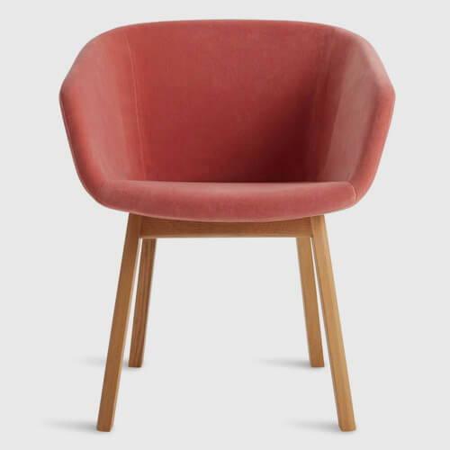 Blu Dot Host Velvet Dining Chair