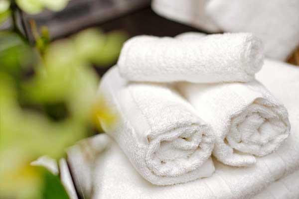location serviettes de bain pour mariage