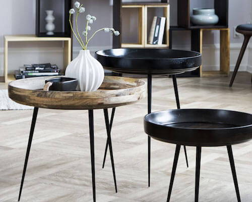 These 10 round coffee tables will look great in any modern living room,