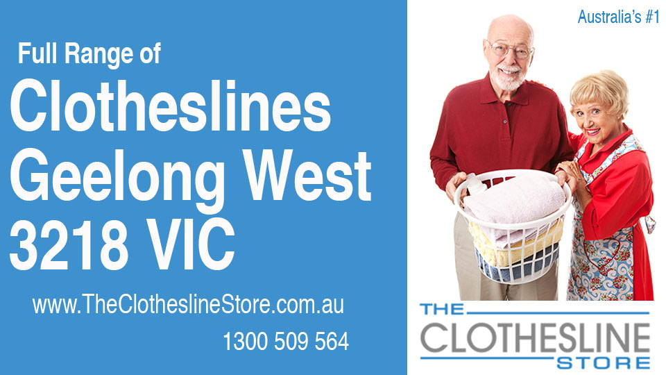 New Clotheslines in Geelong West Victoria 3218