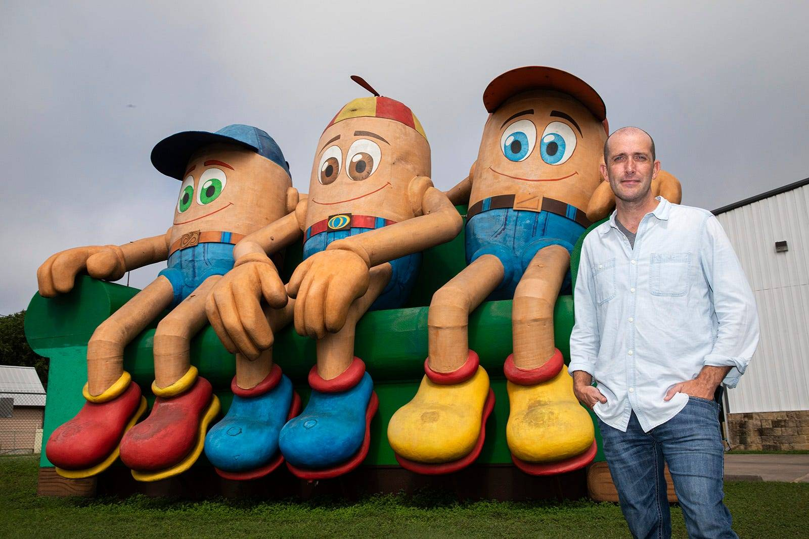 Owner Brian Morgan & The Couch Potatoes