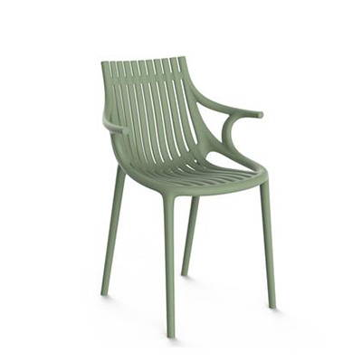 Modern Green Outdoor Dining Chairs