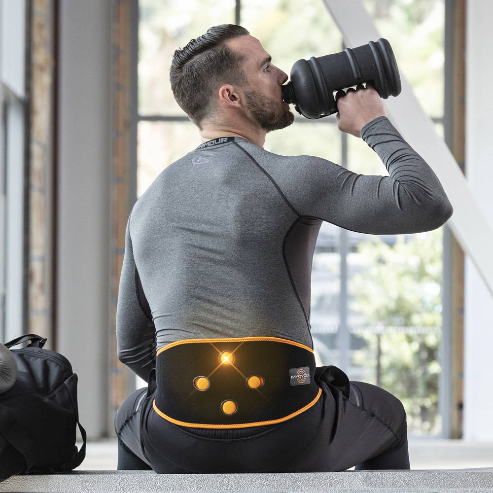 Myovolt Wearable Vibration Lower Back Recovery