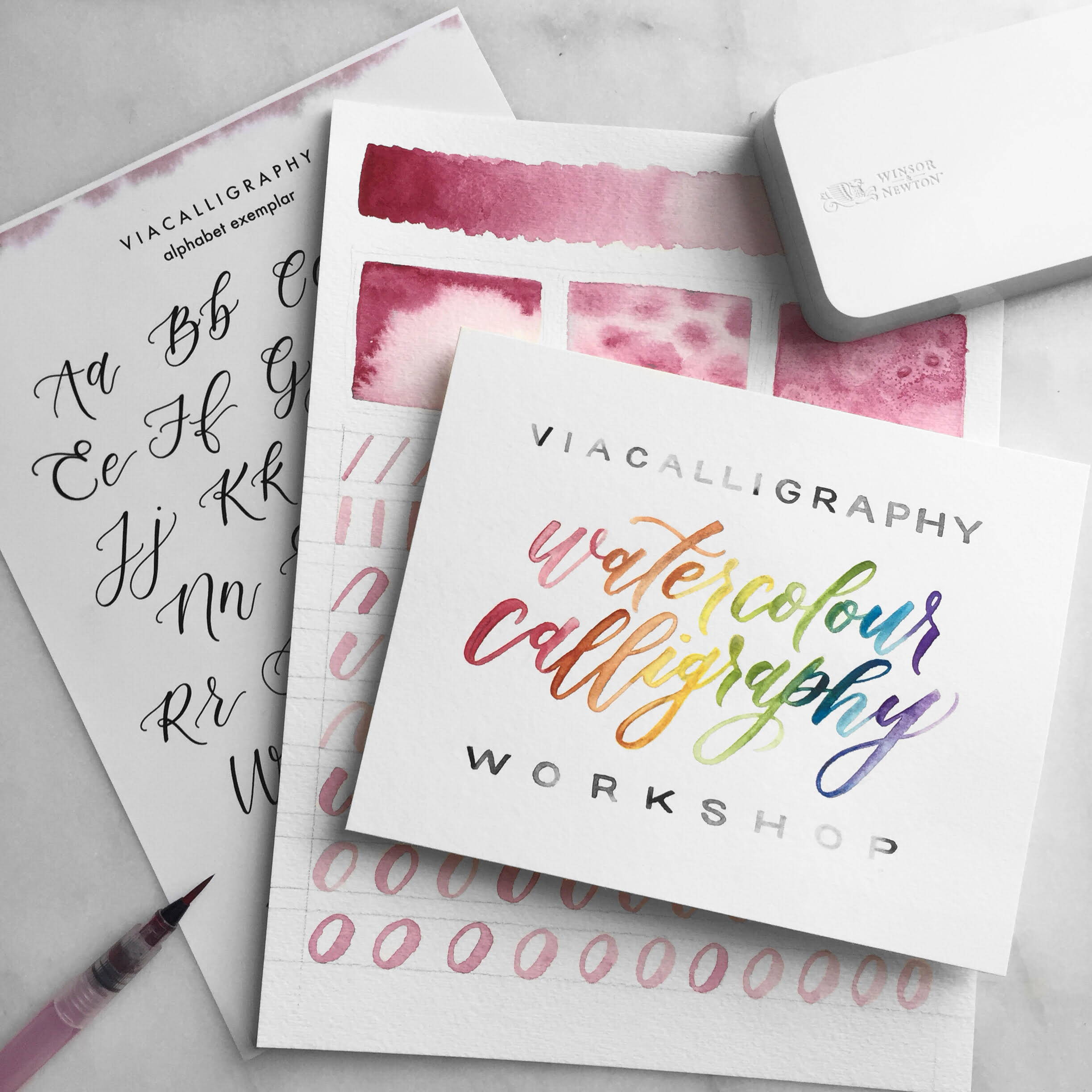watercolour calligraphy classes toronto