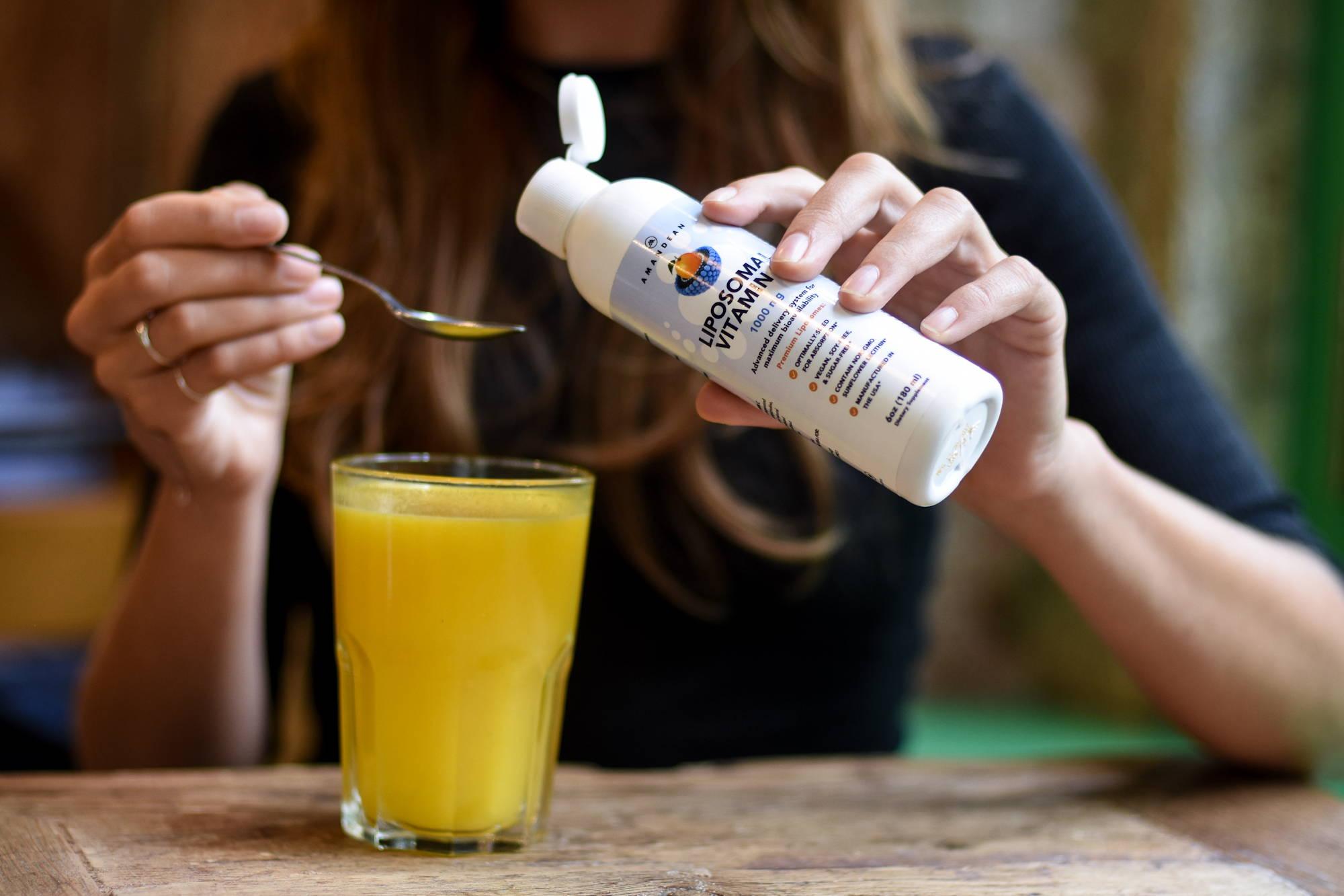 Maximum Bioavailability Liposomal Vitamin C Amandean