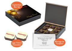 Diwali corporate gift ideas (9 Chocolates - 100 Box)