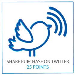 Share on Twitter to earn 25 points