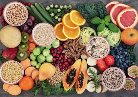 Vegetarische Nahrungsmittel
