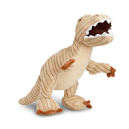 Rocco and Roxie Durable T-Rex Plush Toy for Dogs