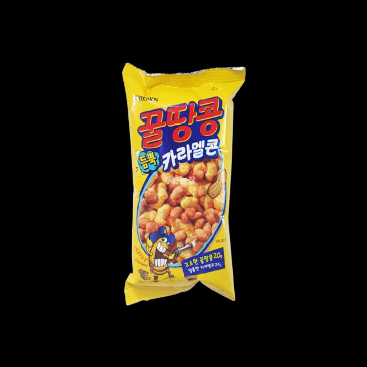 Honey Peanut Caramel Corn