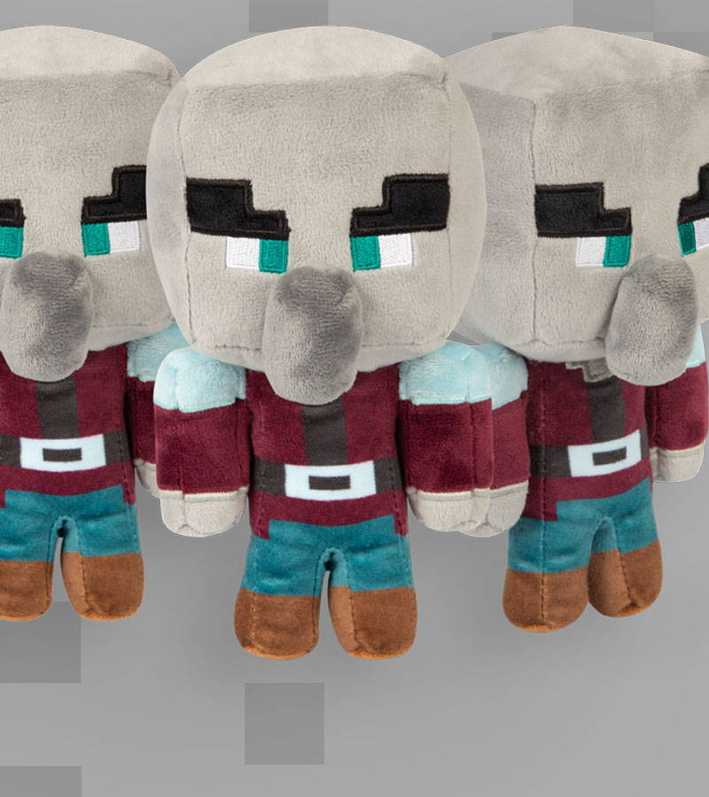 Minecraft Happy Explorer Pillager Plush
