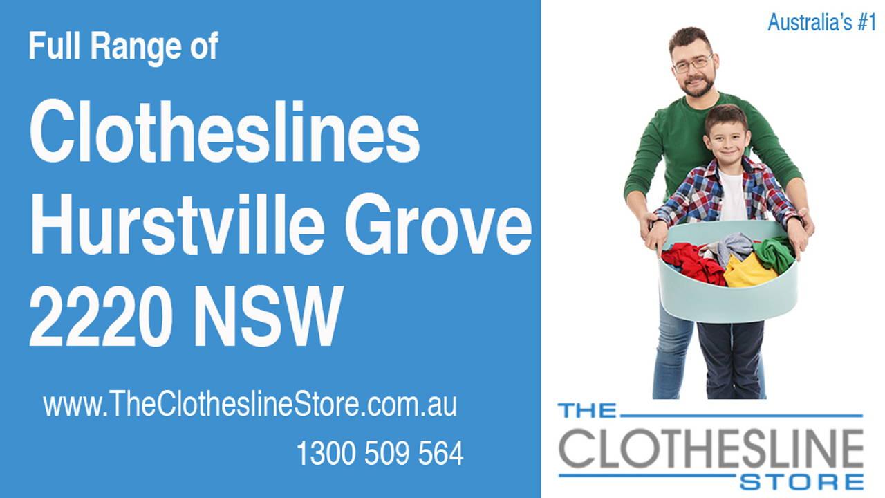 Clotheslines Hurstville Grove 2220 NSW