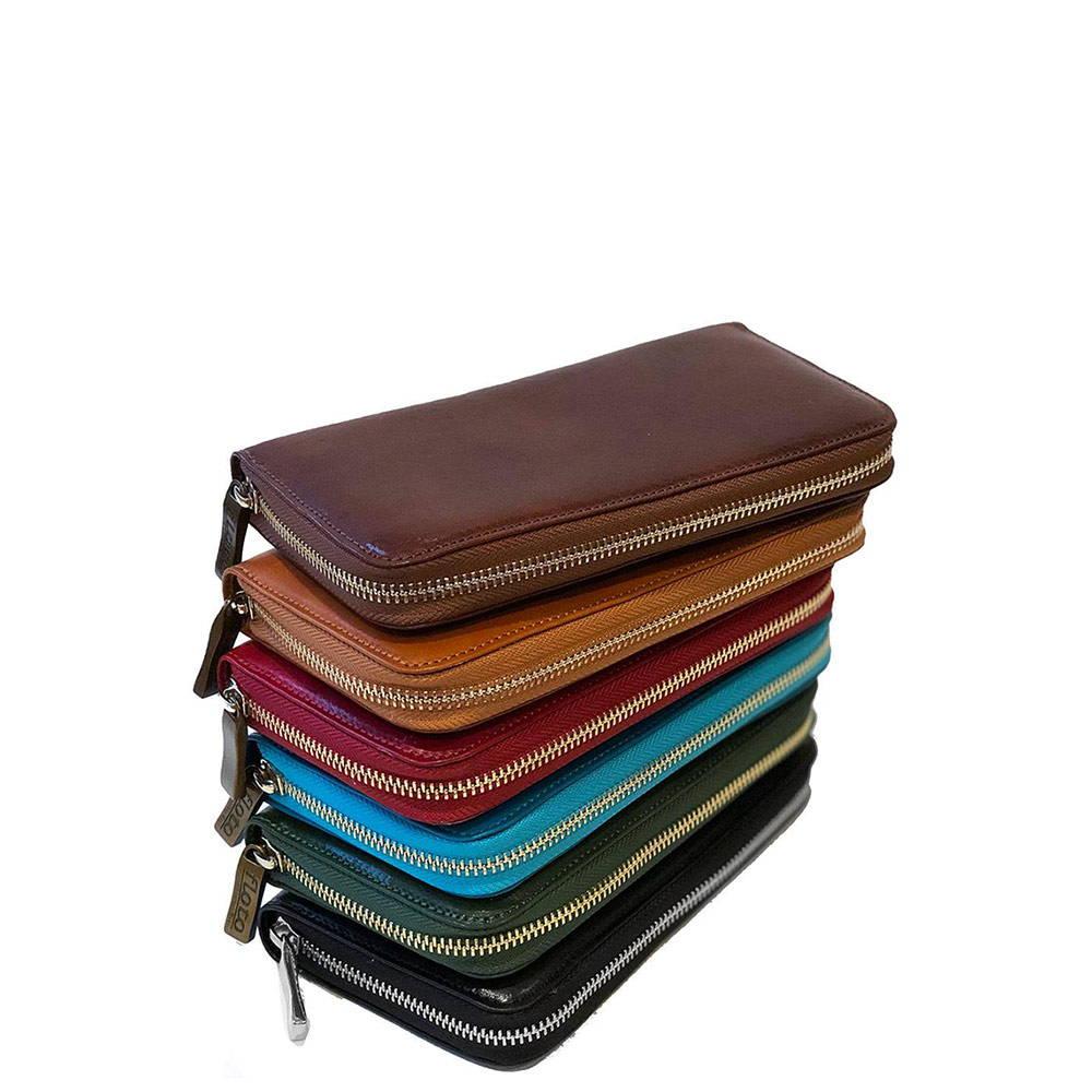 Italian Leather Wallets for Women