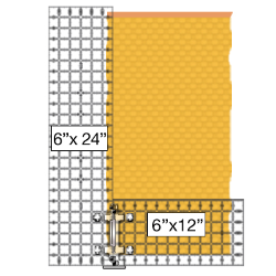 Square up your fabric the Super Easy Way using the Quilt Ruler Upgrade Kit and Quilt Ruler Connector by Guidelines4Quilting