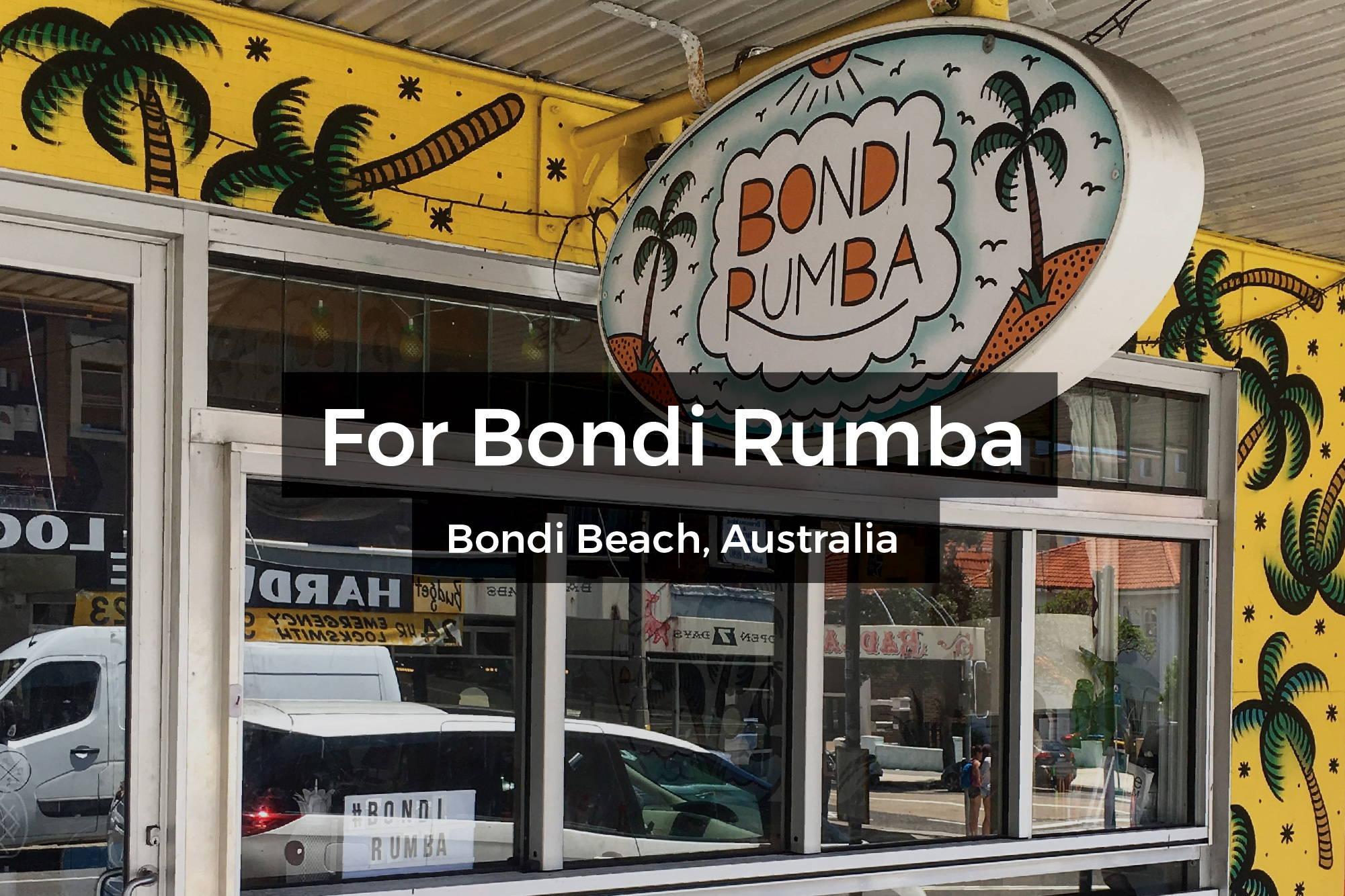 Bondi Rumba mural in Bondi Beach, Australia by Steen Jones