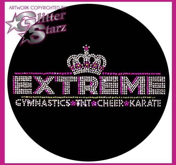 extreme cheer tumble gymnastics fundraiser webstore glitterstarz