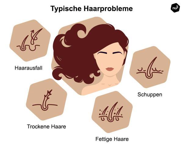 Typische Haarprobleme