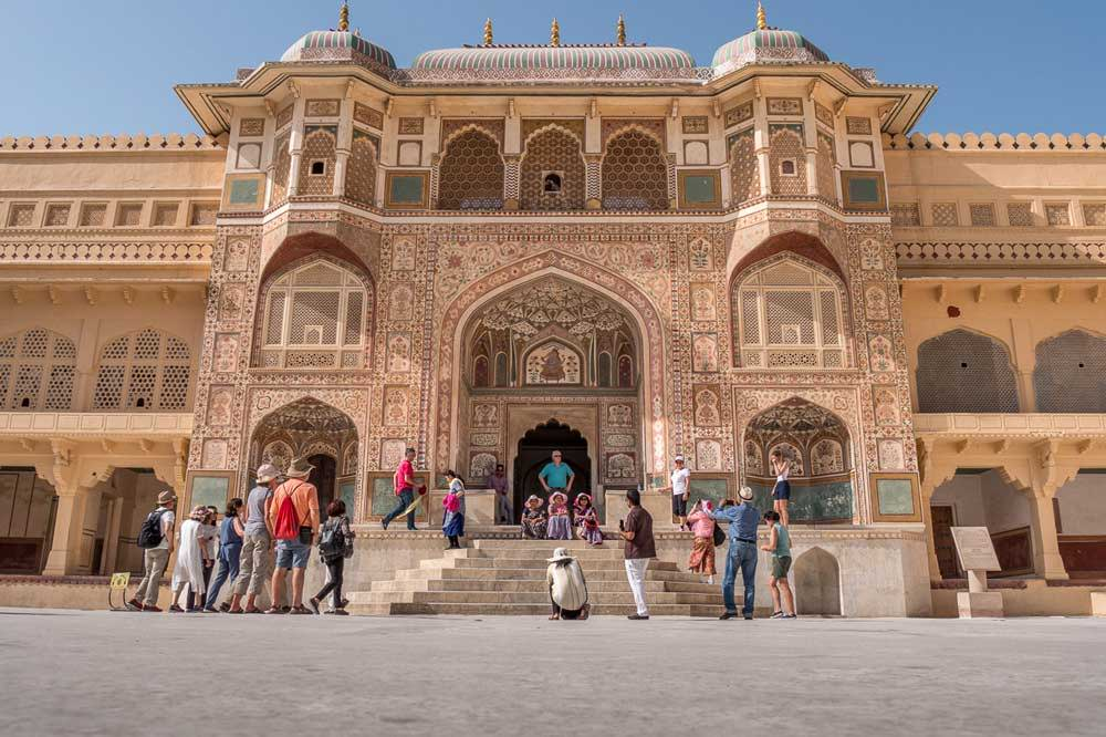 Travelbay India Tours - Customer Reviews - Simon & Gina in India - Amber Fort