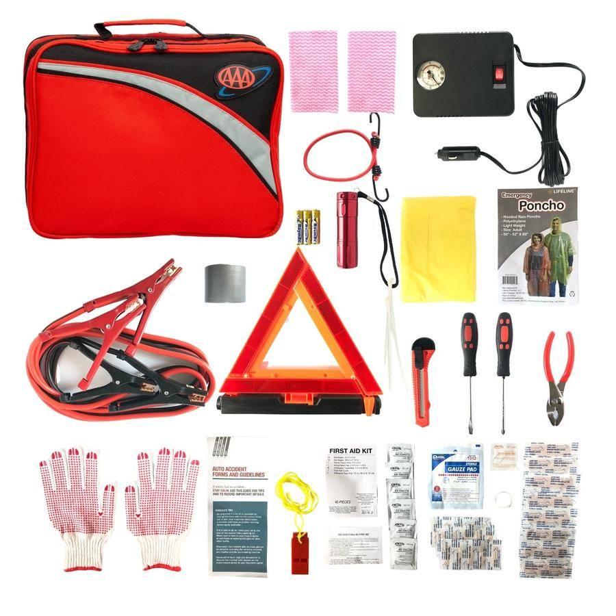 Best Roadside Emergency Kits to keep in your car in 2021 AAA kit