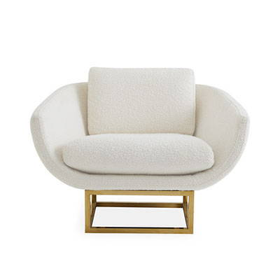Modern White Lounge Chairs