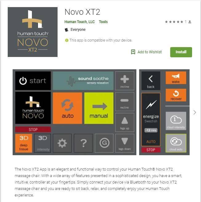 Novo XT2 App