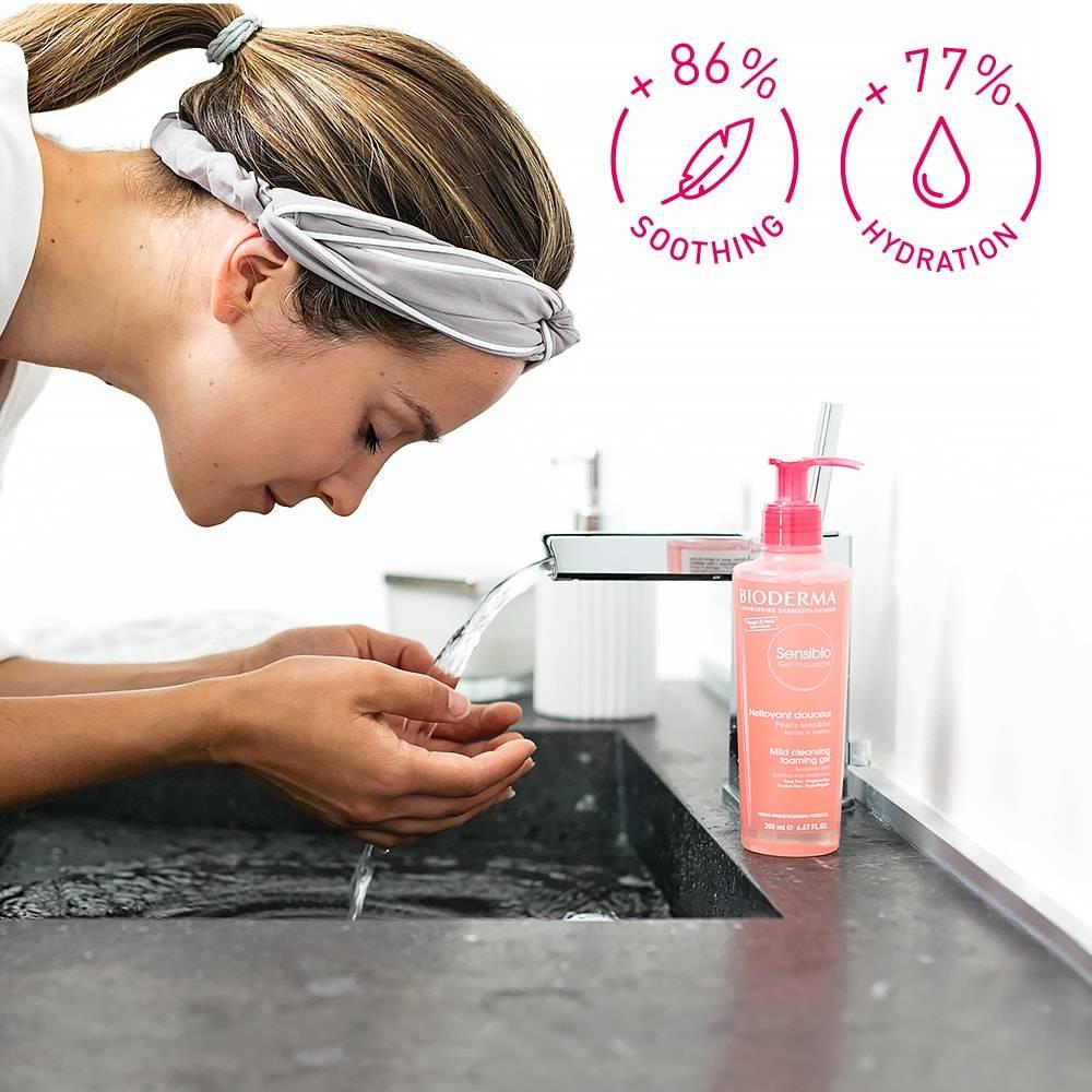 Bioderma Sensibio Foaming gel 16,9 fl oz